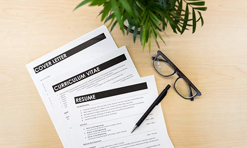 Resumes Cover Letters Cvs Application Documents